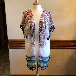 Grace & Lace Kimono one Size Fits Most